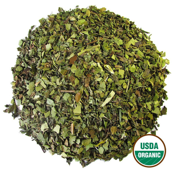 Organic Mint Mate Wholesale (by the pound)  -  Loose Leaf Tea  -  Full Leaf Tea Company