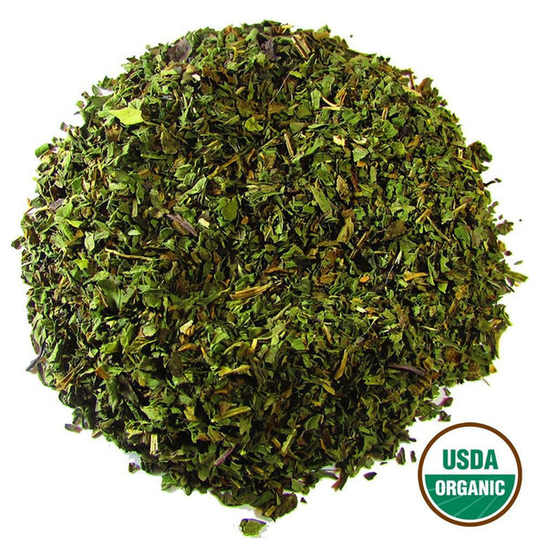 Organic Peppermint Wholesale (by the pound)  -  Loose Leaf Tea  -  Full Leaf Tea Company