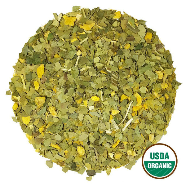 Organic Turmeric Ginger Mate Wholesale (by the pound)  -  Loose Leaf Tea  -  Full Leaf Tea Company