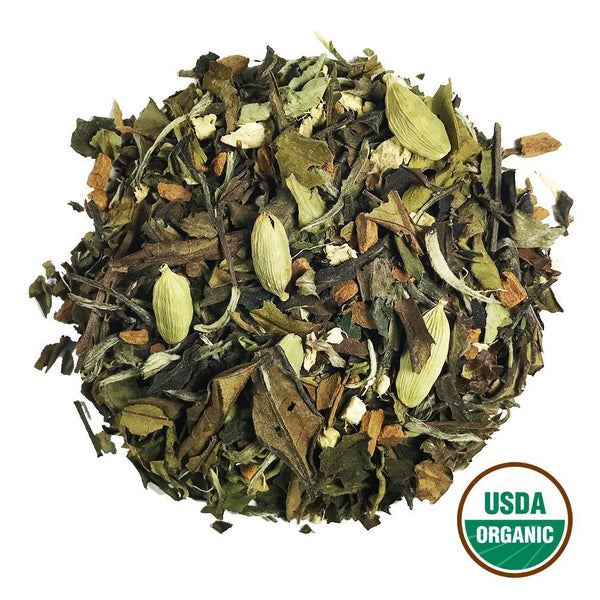 Organic White Chai Wholesale (by the pound)  -  Loose Leaf Tea  -  Full Leaf Tea Company