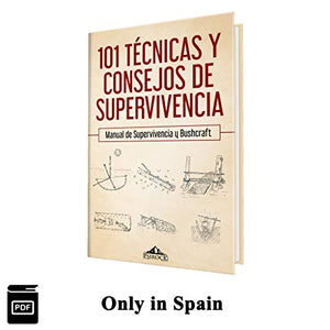 Ebook PDF 101 Técnicas de Supervivencia y Bushcraft