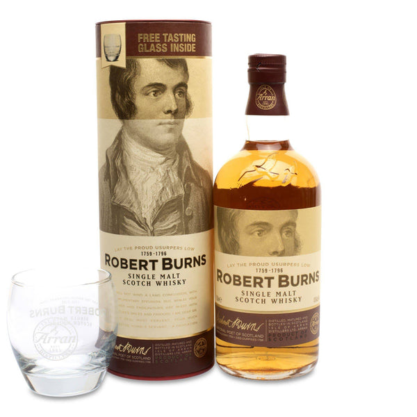 Arran Robert Burns Malt Gift Pack - JPHA