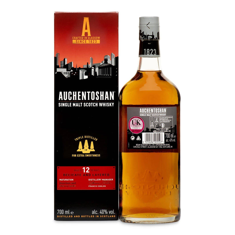Auchentoshan 12 Year Old - JPHA