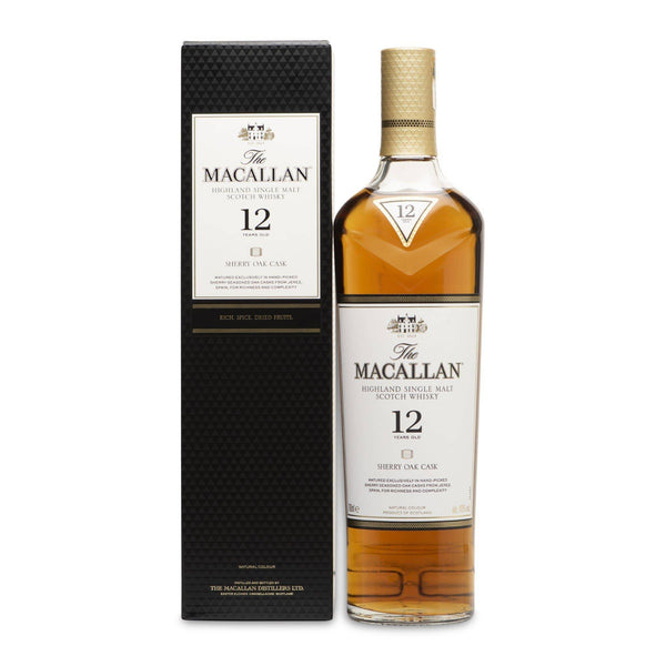 Macallan 12 Year Old Sherry Oak Cask - JPHA