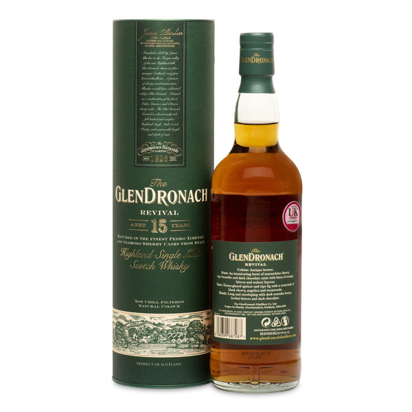 The GlenDronach 15 Year Old Revival - JPHA