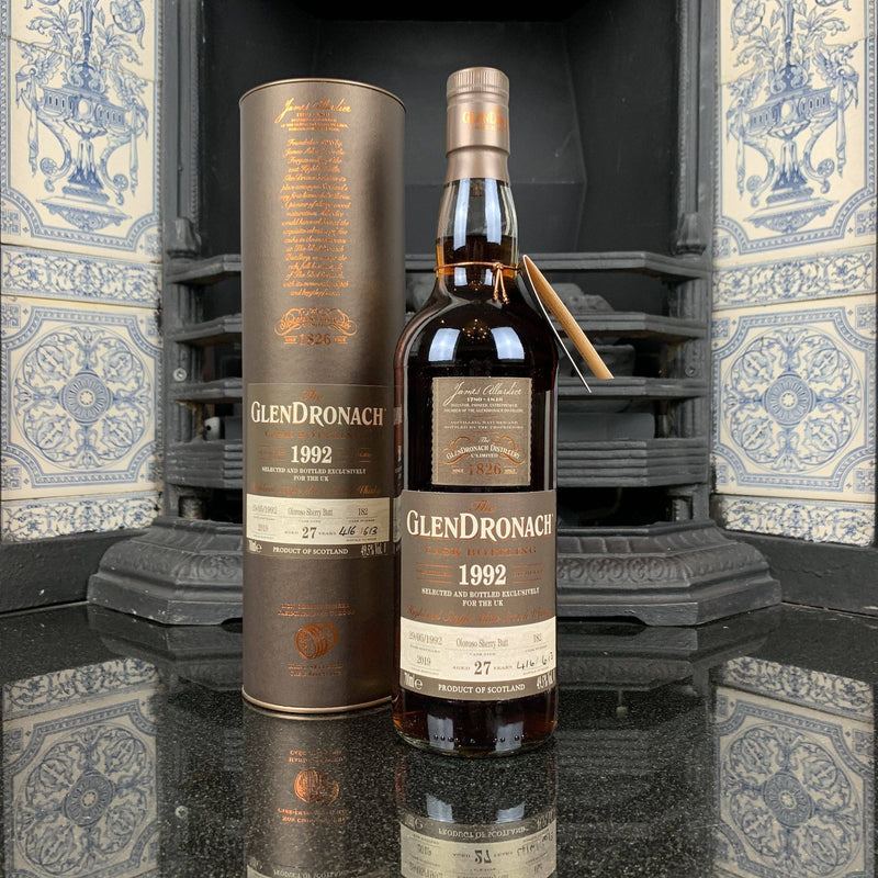 The GlenDronach 1992 27 Year Old, UK Exclusive Cask #182 | JPHA