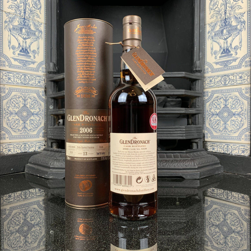 The GlenDronach 2006 13 Year Old, UK Exclusive Cask #5538 | JPHA
