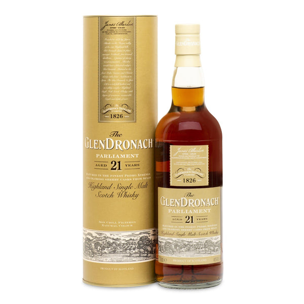 The Glendronach 21 Year Old Parliament - JPHA