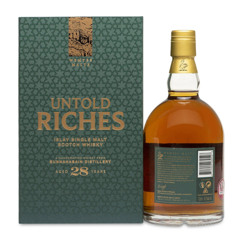 Wemyss Malts - Bunnahabhain 28 Year Old Untold Riches