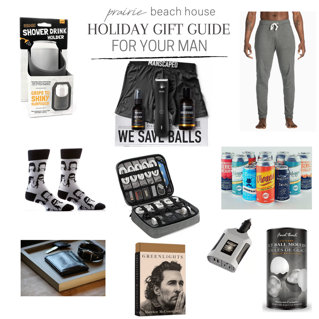 Top Ten Holiday Gifts for Your Man