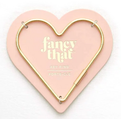 heart keychain from jilly's boutique