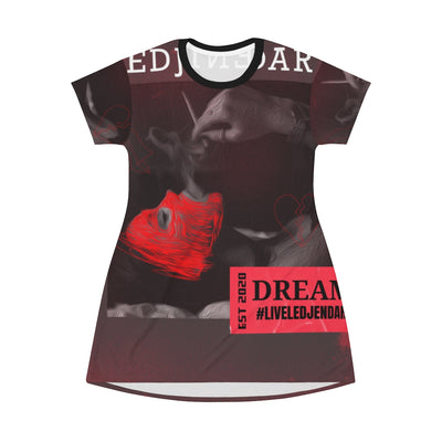 Dream or Die T-Shirt Dress