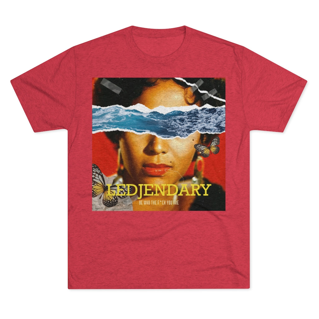 Ledjendary Black Beauty Unisex Tri-Blend Crew Tee