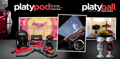 Interview with Dr. T: Keep the tripod police away with the Platypod