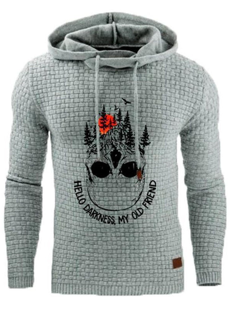 Pullover Print Letter Winter Pullover Hoodies