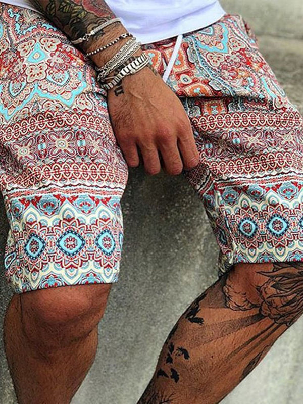 Print Summer Casual Casual Pants