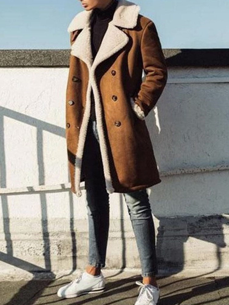 Mid-Length Slim Winter Coat
