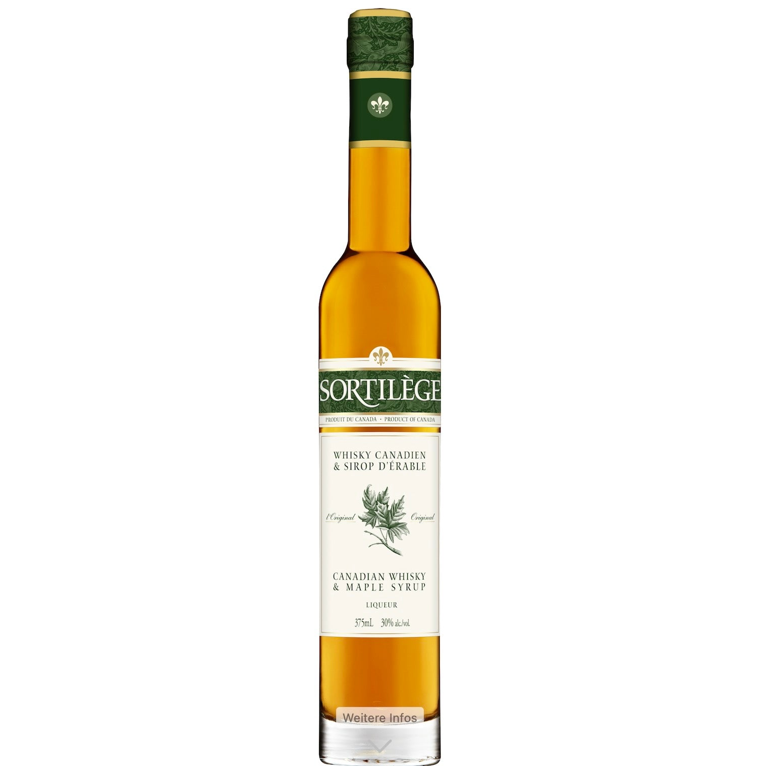 Sortilège - Canadian Whisky with maple syrup 375ml