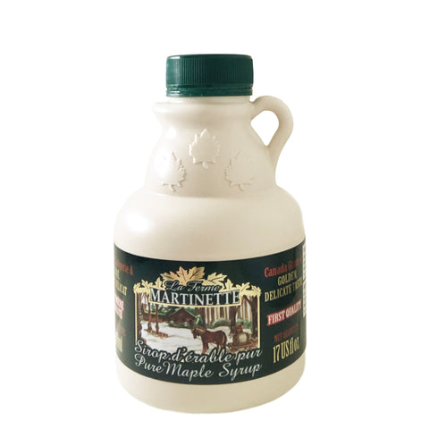 Pure maple syrup - purer Ahornsirup aus Kanada, Grade A, Golden, traditioneller Krug, 500ml