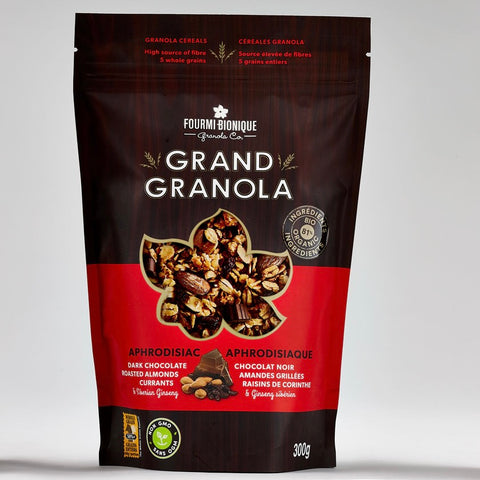Knuspermüsli, Grand Granola Aphrodisiaque, Fourmi Bionique, 300g