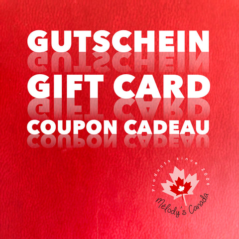 Gutschein - Gift card for Canada lovers