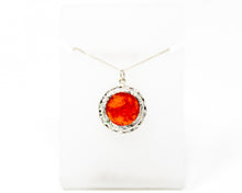 Load image into Gallery viewer, Carnelian Sterling Silver Pendant