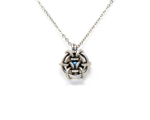 Hoodoo Hex Captured Bearing Pendant