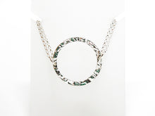 Load image into Gallery viewer, Hammered Sterling Silver Collar Necklace