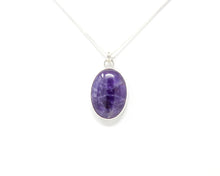Load image into Gallery viewer, Amethyst Sterling Silver Pendant