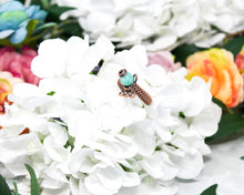 Load image into Gallery viewer, Amazonite Wirewrapped Ring Size 10