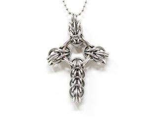Chunky Celtic Cross Pendant