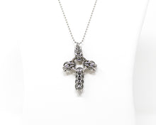 Load image into Gallery viewer, Chunky Celtic Cross Pendant