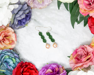 Pearl Sweet Pea Earrings