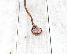 Load image into Gallery viewer, Rose Quartz Halo Wirewrapped Pendant