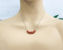 Load image into Gallery viewer, Copper Slider Necklace
