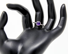 Load image into Gallery viewer, Amethyst Stacking Ring, Size 8