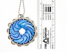 Load image into Gallery viewer, Titanium Turbine Pendant