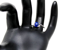Load image into Gallery viewer, Lapis Lazuli Sterling Silver Ring, Size 6.75