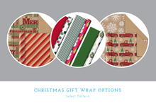 Load image into Gallery viewer, Christmas Gift Wrap Service