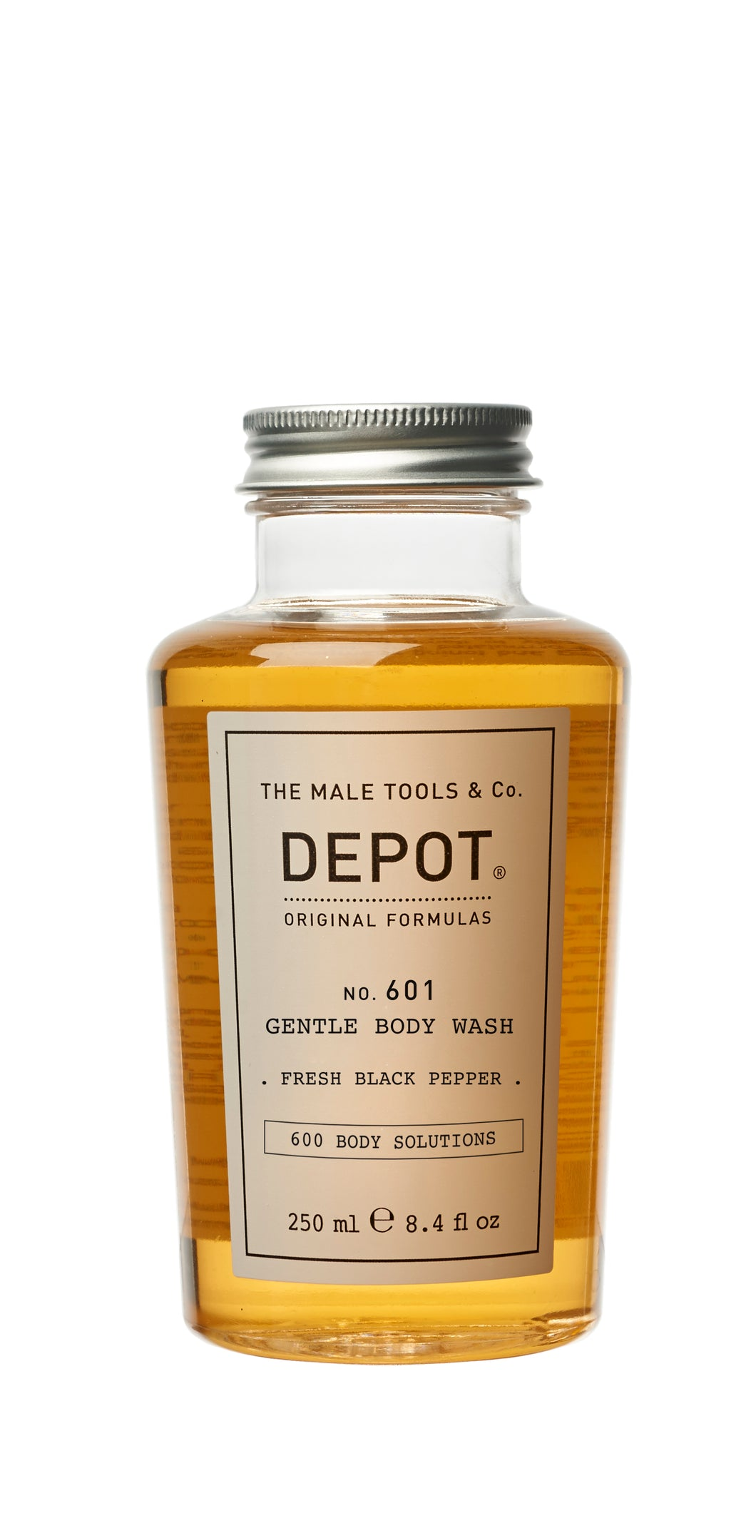 DEPOT MALE TOOL NO. 601 GENTLE BODY WASH Black Pepper