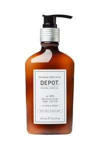 DEPOT MALE TOOL  NO. 604 MOISTURIZING HAND LOTION  CITRUS & HERBS