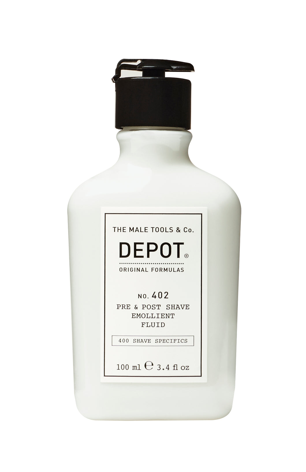 DEPOT MALE TOOL NO. 402 PRE & POST SHAVE EMOLLIENT FLUID