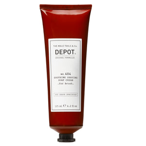 DEPOT MALE TOOL NO. 404 SOOTHING SHAVING SOAP CREAM . for brush