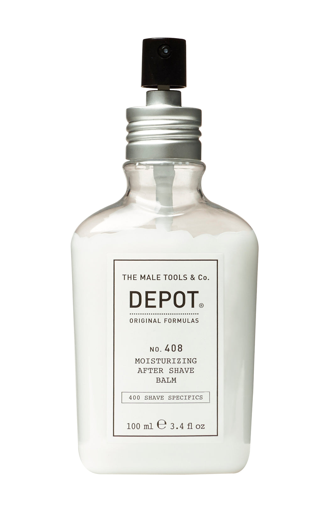 DEPOT MALE TOOL NO. 408 MOISTURIZING AFTER SHAVE BALM - FRESH BLACK PEPPER