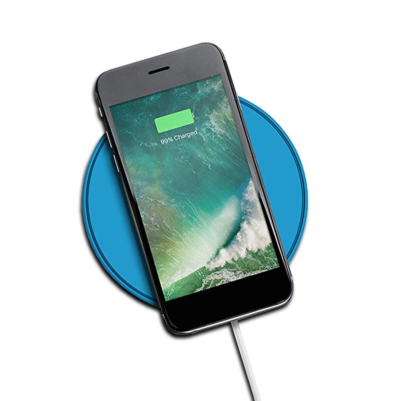 Juice 5W Wireless Charge Puck - Blue