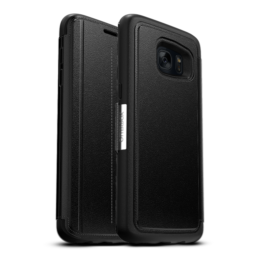 wholesale dealer 410df 2a1f5 OtterBox Strada Case for Galaxy S7 Edge - Black