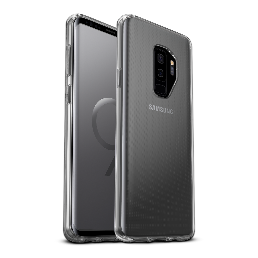 uk availability b8d04 20b48 OtterBox Symmetry Clear Cover for Galaxy S9 Plus - Clear