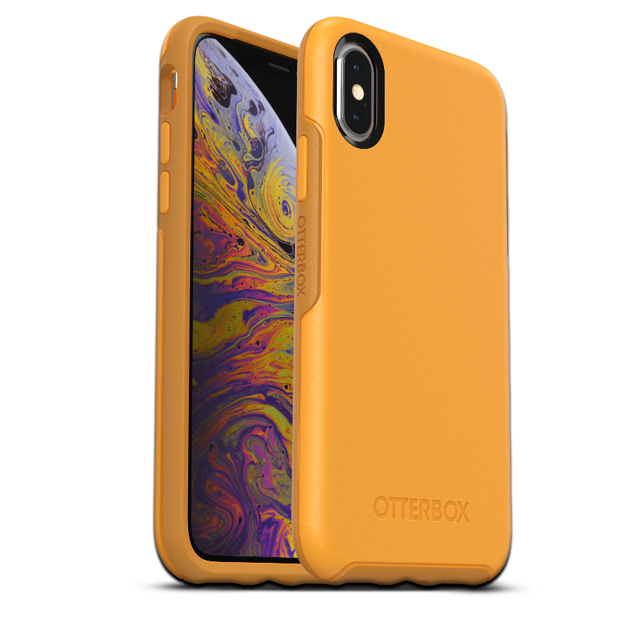 sports shoes 05bcb 947dd OtterBox Symmetry Cover for iPhone X/XS - Yellow