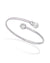 "16344.01.2.000.010.1 ""ALINA CUFF"" Bangle pulsera rigida MAJORICA OFFICIAL"