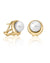 "16348.01.1.000.010.1 ""MARGOT"" White Pearl Earrings Majorica 
